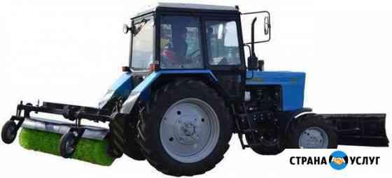 Вспашка, боронование, дискование. мтз-82 трактор Одинцово
