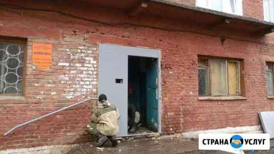 Видеонаблюдение,домофоны, магнитные замки, доводчи Омск