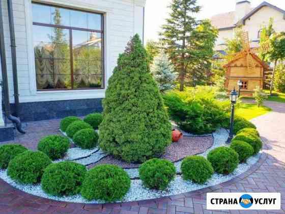 Ландшафтный дизайн, услуги садовника Одинцово
