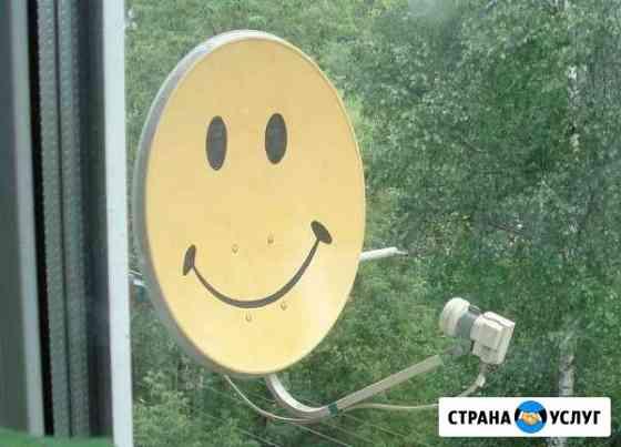 Настройка и установка спутникового тв Омск