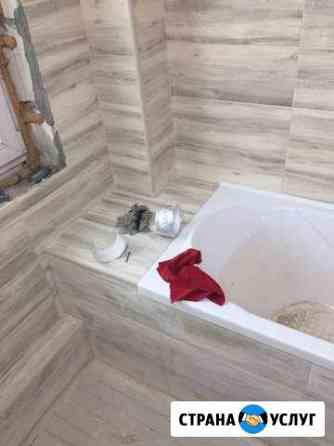 Ремонт ванной и туалета под ключ Иркутск