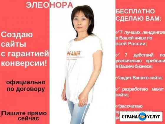 Создам сайты, лендинги, продающие за Вас Омск