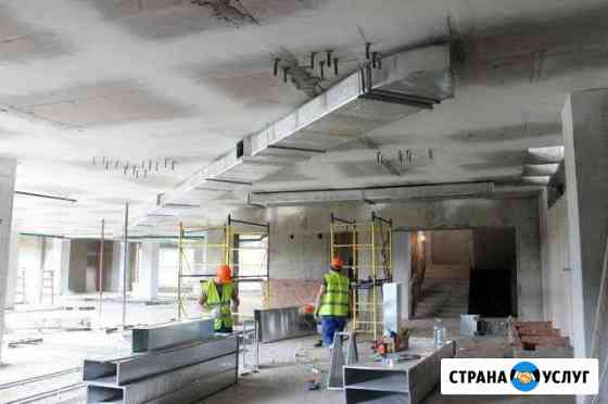 Монтаж Вентиляции в доме, квартире, офисе, кафе Челябинск