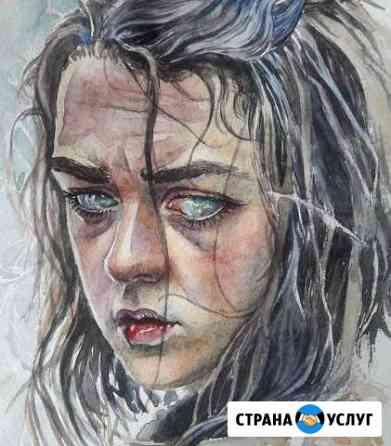 Портрет по фото, иллюстрации Астрахань