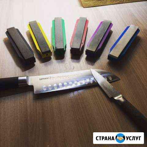 Профессиональная заточка ножей Иркутск