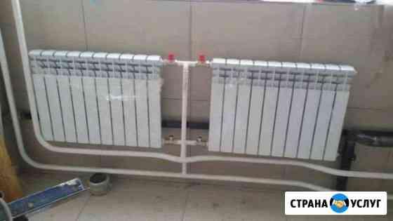 Установка и монтаж систем отопления, водопровода Омск