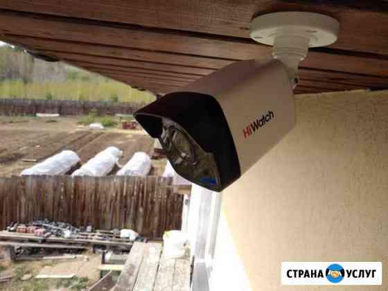 Монтаж систем видеонаблюдения Иркутск