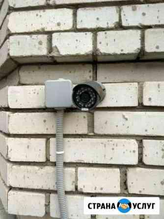 Установка видеонаблюдения Омск