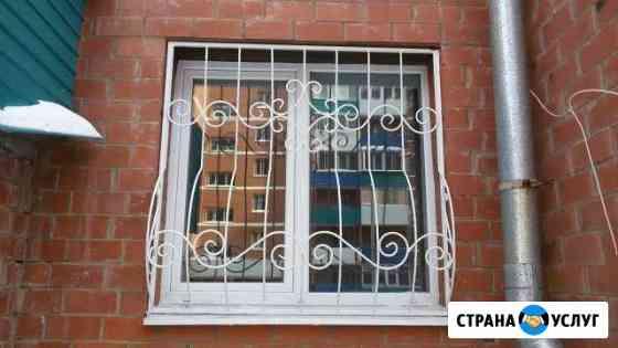 Решетки на окна и лоджии Иркутск