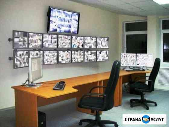 Монтаж систем видеонаблюдения Омск
