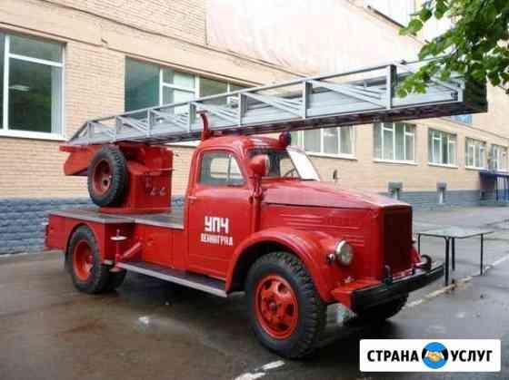 Проведение испытаний пожарных лестниц Омск