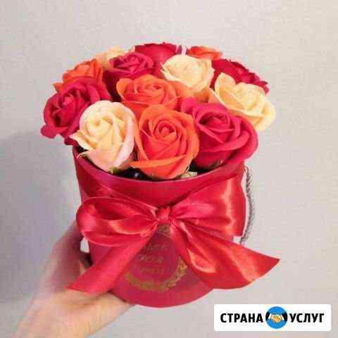 Розы из мыла Астрахань