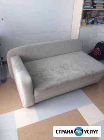 Химчистка мягкой мебели и ковров на дому Омск