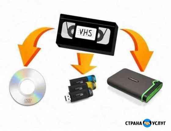 Оцифровка видео и аудио кассет на DVD, USB, HDD Астрахань