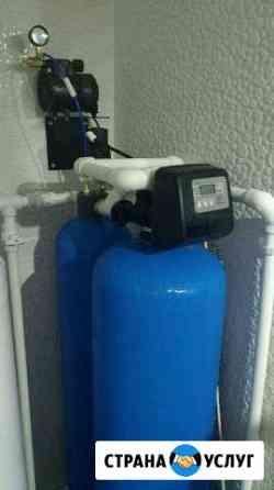 Фильтры для очистки воды в коттедже Одинцово