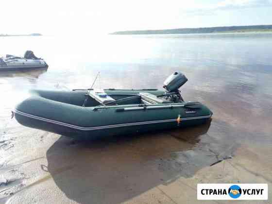 Аренда лодки Хантер 320 лка с мотором Иркутск