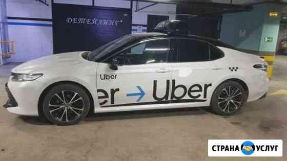Брендирование uber с Лайтбоксом Астрахань