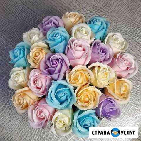 Букет из мыльных роз Омск