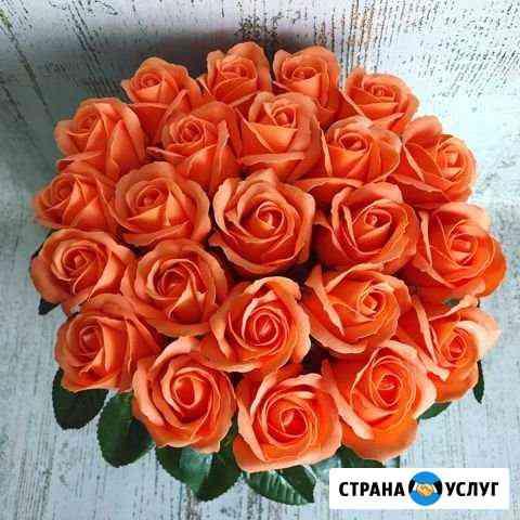 Букеты мыльных роз Омск