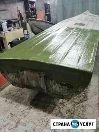 Ремонт пластиковых лодок, катеров Астрахань