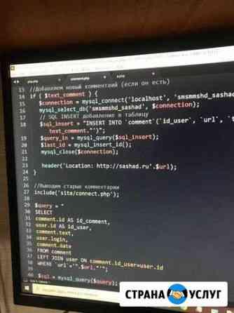 IT web программист Омск