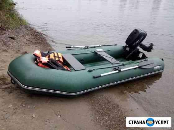 Аренда лодки SibRiver Бирюса 325 с мотором Иркутск