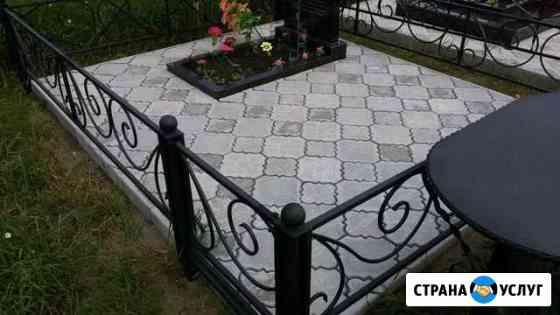 Благоустройство мест захоронения Омск