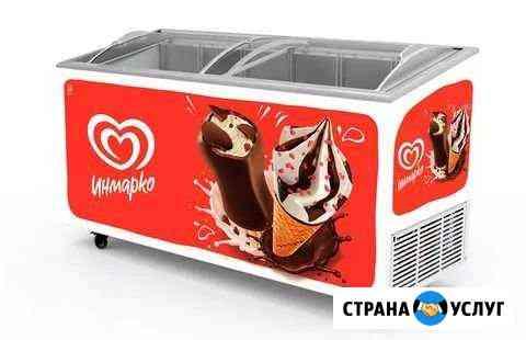 Установка морозильного оборудования в торговые точ Астрахань