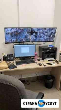 Монтаж, настройка, ремонт видеонаблюдения Иркутск