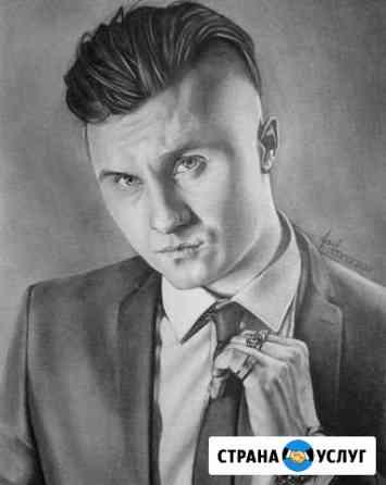 Портреты, тату эскизы, скетч-аватарки Омск