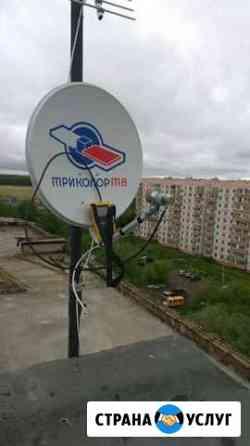 Установка спутникового телевидения МТС/триколор/Те Омск