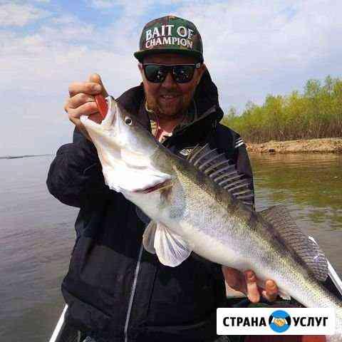 Рыбалка в Астраханской обл., Енотаевском р-не Тамбовка