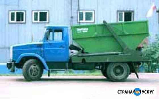 Вывоз мусора, демонтаж, уборка на участке Одинцово