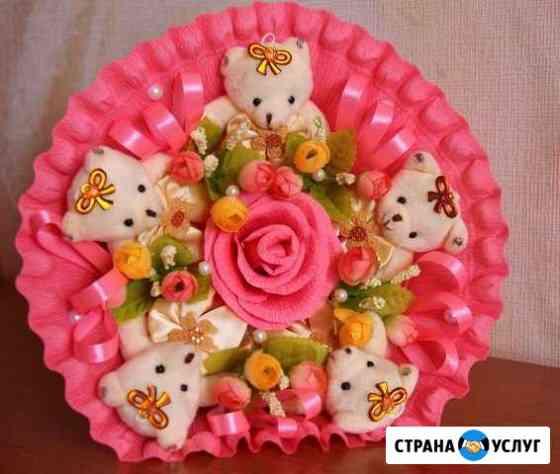 Букеты из мягких игрушек Омск