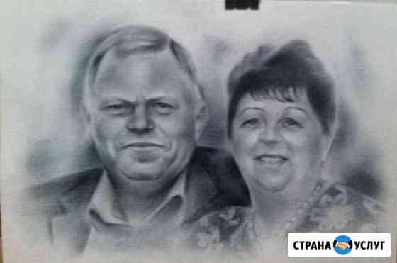 Пишу портреты Астрахань