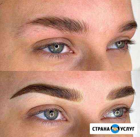 Перманентный макияж бровей Одинцово