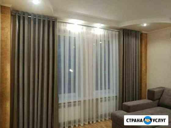 Пошив штор, рулонные шторы Омск