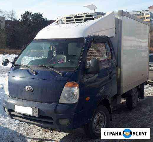 Грузоперевозки, услуги рефрижератора Омск