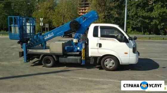 Услуги автовышки 21 м Омск