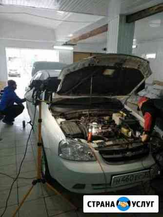 Установка газа на авто гбо на авто Астрахань