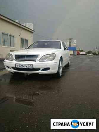 Прокат представительского авто Mercedes на свадьбу Омск