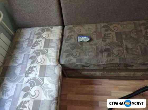 Профессиональная химчистка мягкой мебели Омск