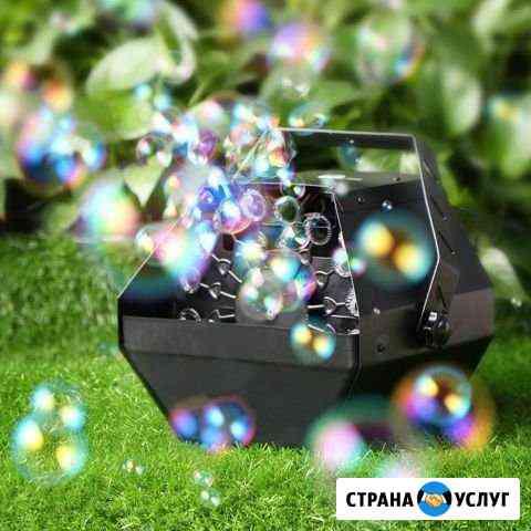 Аренда генератора мыльных пузырей Азово