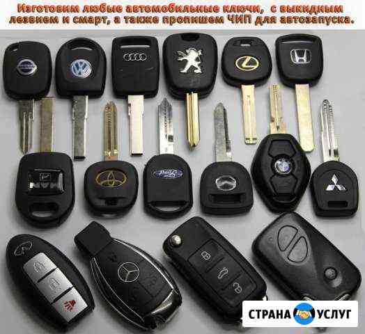 Чипы в автозапуск. Изготовление авто ключей Омск