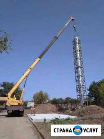 Аренда автокрана от 25 тонн Одинцово