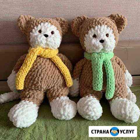 Вязанные игрушки Омск