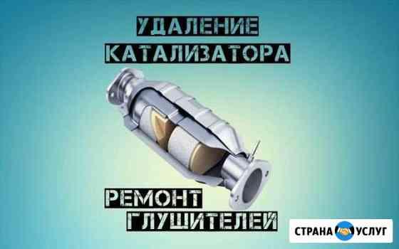 Удаление катализатора, пламегаситель с установкой Одинцово