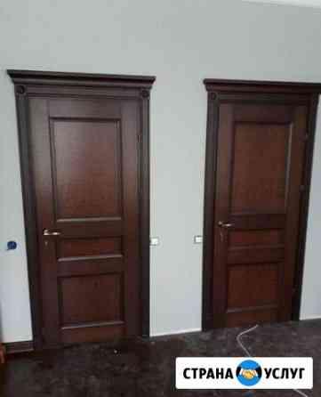 Установка межкомнатных дверей Астрахань