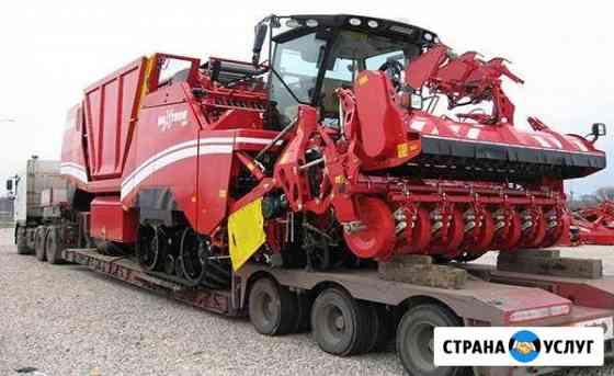 Трал. Перевозка габаритных и негабаритных грузов Омск