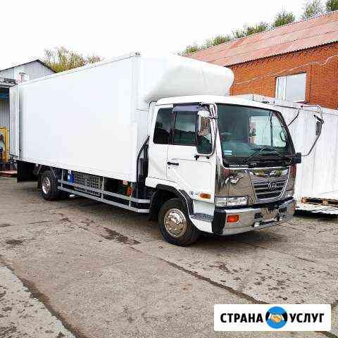 Грузоперевозки рефрижератор 5 тонн 26 кубов Омск